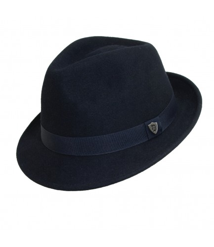 Wool Stingy Brim Fedora Hat