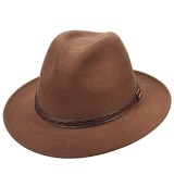 Leather Band Safari Hat