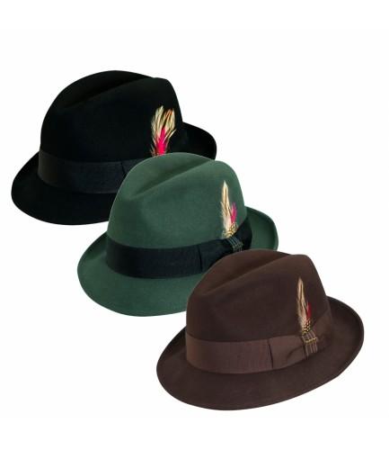 Snap Brim Fedora Hat