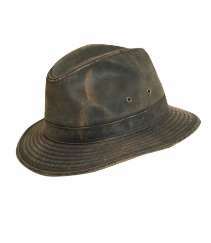 Weathered Cotton Safari Hat