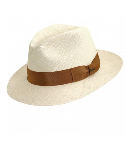 Grade 8 Safari Panama Hat With Beige Band