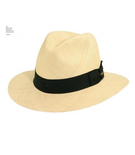 Panama Hat Natural Colored With Safari Shape