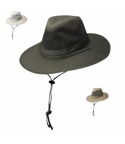 Safari Solar Weave Treated Cotton Hat