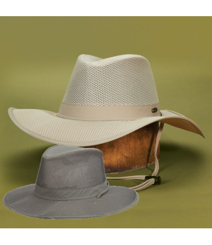 Stetson Nylon Big Brim Mesh Safari