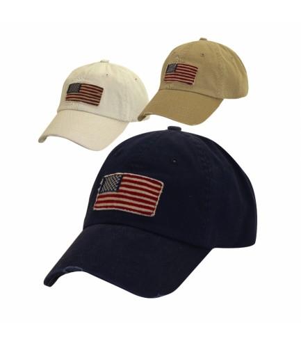 American Flag Ballcap
