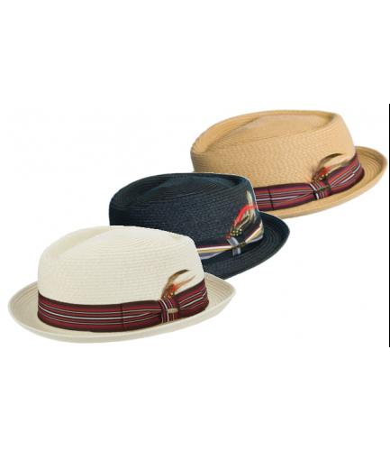 Diamond Crown Stingy Brim Hat