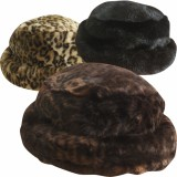 Faux Fur Cloche Hat