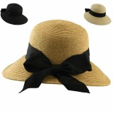 Face Saver Hat With Grosgrain Bow
