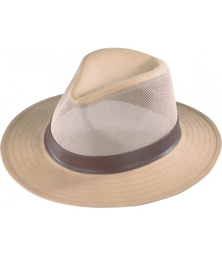 Aussie Breezer Hat With Leather