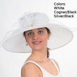 Sinamay Dress Hat