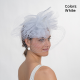 White Crinoline Headband