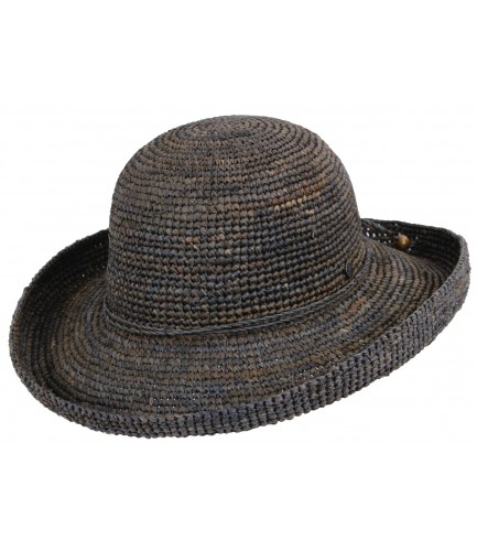 Raffia Upturn Hat