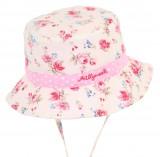 Baby Girl Vintage Floral Hat