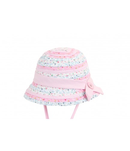 Baby Girl Patchwork Hat